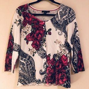 white house black market blouse small